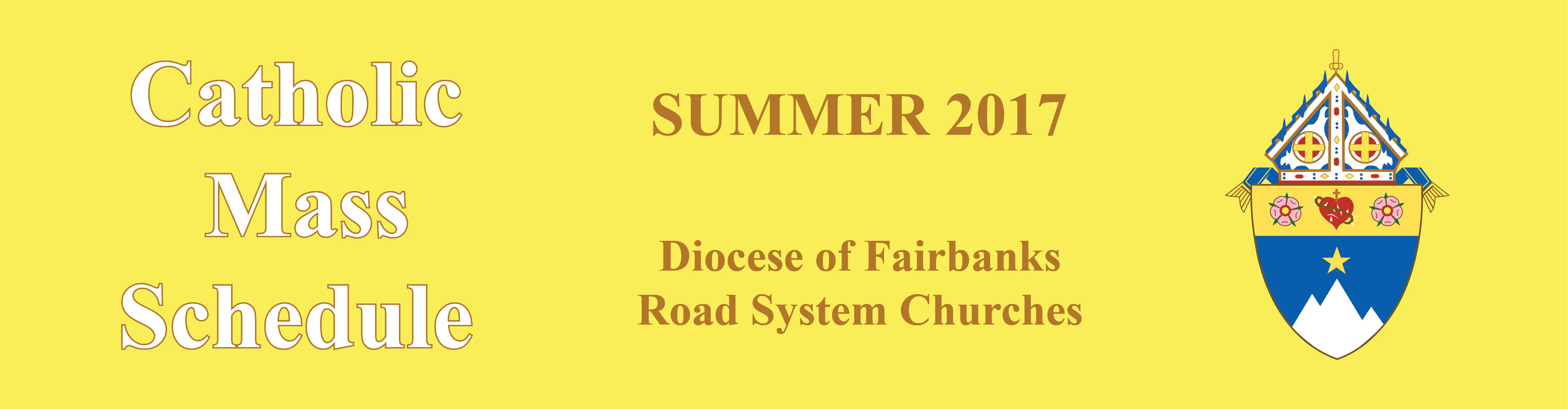 20170605-summer mass schedule